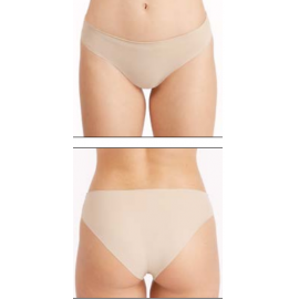 Panties under swimsuit