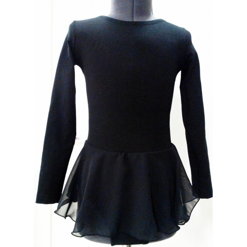 Leotard with skirt
